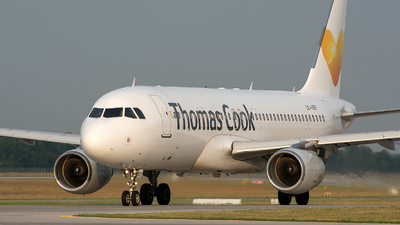 LY-VEF - Airbus A320-214 - Thomas Cook Airlines