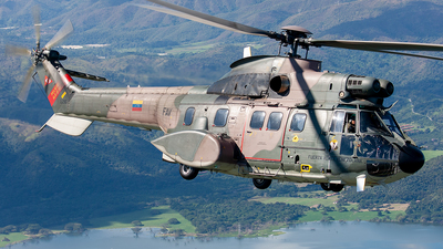 2216 - Aérospatiale AS 332B Super Puma - Venezuela - Air Force