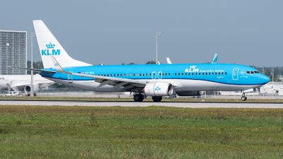 A picture of PHBXL - Boeing 7378K2 - KLM - © Chr.Schulenberg