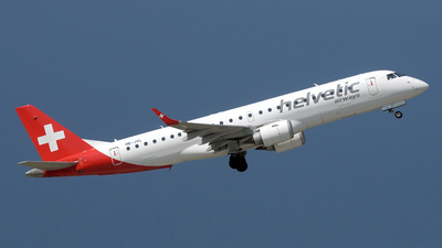 HB-JVL - Embraer 190-100LR - Helvetic Airways