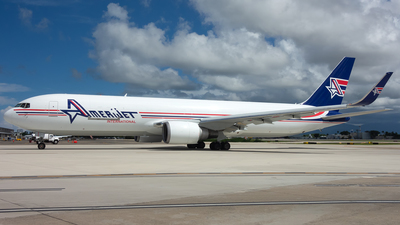 N349CM - Boeing 767-323(ER)(BDSF) - Amerijet International