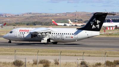 A picture of HBIYV - Avro RJ100 - [E3377] - © J.M.Carballo