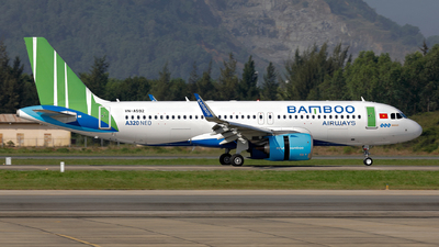 A picture of VNA592 - Airbus A320251N - Bamboo Airways - © photogiap