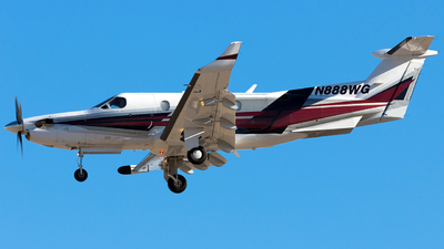 A picture of N888WG - Pilatus PC12/45 - [587] - © Christopher Ong