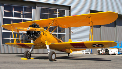 N555BF - Boeing A75N1 Stearman - Private