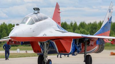 RF-92804 - Mikoyan-Gurevich MiG-29UB Fulcrum - Russia - Air Force