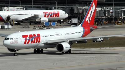PT-MVO - Airbus A330-223 - TAM Linhas Aéreas