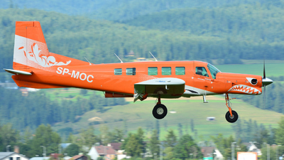 SP-MOC - Pacific Aerospace P-750 XSTOL - Aero Club - Gdanski