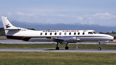 VH-KDR - Swearingen SA226-TC Metro II - Kendell Airlines