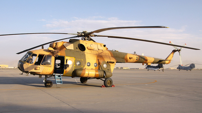 291 - Mil Mi-8MTV Hip - Afghanistan - Air Force