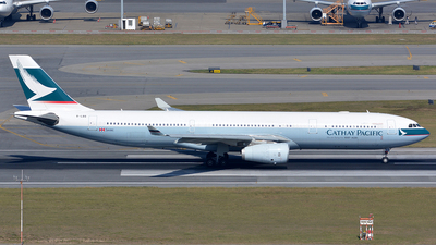 B-LBB - Airbus A330-343 - Cathay Pacific Airways
