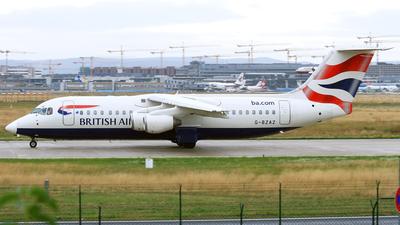 G-BZAZ - British Aerospace Avro RJ100 - BA CityFlyer