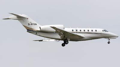 A picture of DBTEN - Cessna 750 Citation X - [7500085] - © Łukasz Stawiarz
