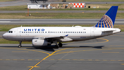 A picture of N826UA - Airbus A319131 - United Airlines - © OCFLT_OMGcat
