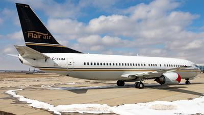 A picture of CFLHJ - Boeing 7374Q8 - Flair Airlines - © Alex Praglowski