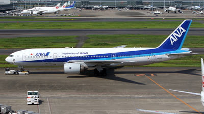 A picture of JA715A - Boeing 777281(ER) - All Nippon Airways - © kouyagi