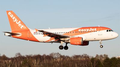HB-JYC - Airbus A319-111 - easyJet Switzerland