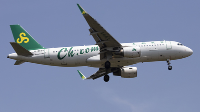 A picture of B8592 - Airbus A320214 - Spring Airlines - © lixing