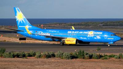 D-AHFZ - Boeing 737-8K5 - Hapagfly