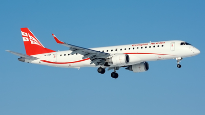 4L-TGH - Embraer 190-100IGW - Georgian Airways (AirZena)