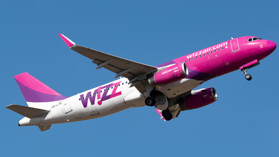 A picture of HALYN - Airbus A320232 - Wizz Air - © Filippomartinix - RomeAviationSpotters