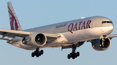 A picture of A7BAC - Boeing 7773DZ(ER) - Qatar Airways - © Kevin Cargo