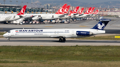 EP-MDF - McDonnell Douglas MD-83 - Iran Air Tours