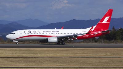B-5610 - Boeing 737-86D - Shanghai Airlines