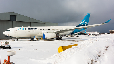 A picture of CGITS - Airbus A330243 - Air Transat - © Leige Yang