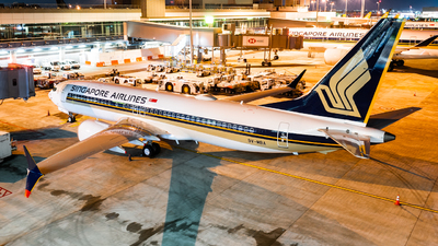 9V-MBA - Boeing 737-8 MAX - Singapore Airlines