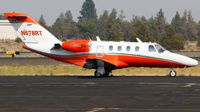 A picture of N678RT - Cessna 525 CitationJet CJ1 - [5250304] - © Alec Mollenhauer