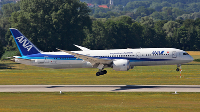 JA839A - Boeing 787-9 Dreamliner - All Nippon Airways (ANA)