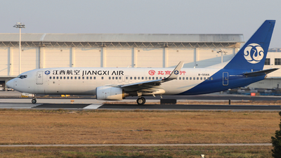 A picture of B5566 - Boeing 73785C - Jiangxi Air - © Snake_ZSAM