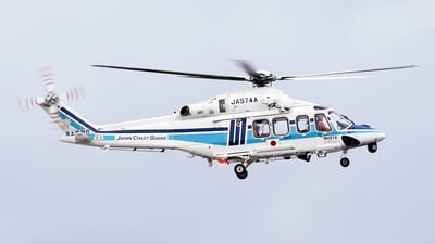 JA974A - Agusta-Westland AW-139 - Japan - Coast Guard