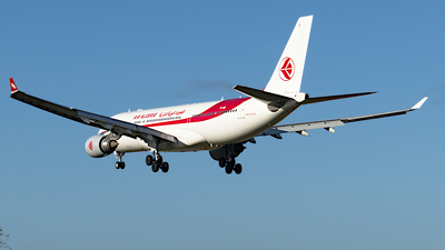 A picture of 7TVJB - Airbus A330202 - Air Algerie - © Tejas Khambhayta