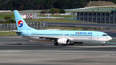 HL7707 - Boeing 737-9B5 - Korean Air