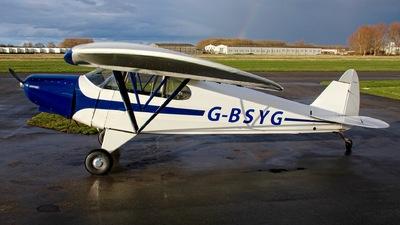 G-BSYG - Piper PA-12-125 Super Cruiser - Private