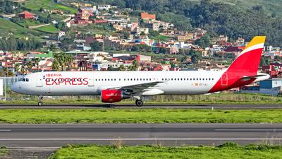 A picture of ECJLI - Airbus A321213 - Iberia Express - © Photography Jc Isla de la Palma