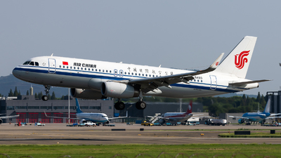 A picture of B8493 - Airbus A320232 - Air China - © Lazy Clutch