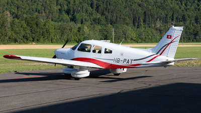 HB-PAT - Piper PA-28-181 Cherokee Archer II - Air Fribourg Services