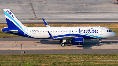 A picture of VTIJW - Airbus A320271N - IndiGo - © Sandeep Pilania