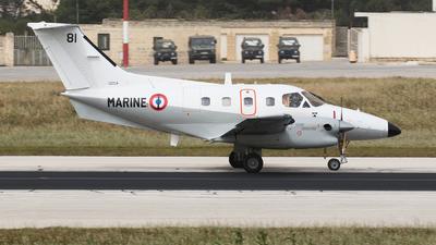 81 - Embraer EMB-121 Xingú - France - Navy
