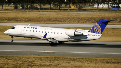 N440AW - Bombardier CRJ-200ER - United Express (Air Wisconsin)