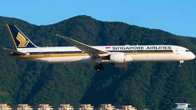 9V-SCC - Boeing 787-10 Dreamliner - Singapore Airlines