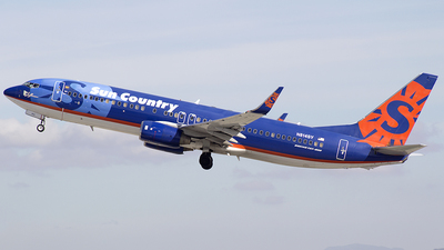 N814SY - Boeing 737-8BK - Sun Country Airlines