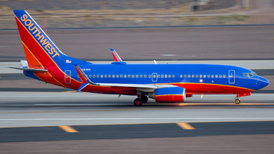 A picture of N256WN - Boeing 7377H4 - Southwest Airlines - © Davin Amy