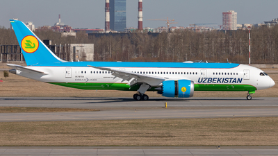 UK78704 - Boeing 787-8 Dreamliner - Uzbekistan Airways