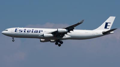 9H-JAI - Airbus A340-313X - Estelar (Hifly Malta)