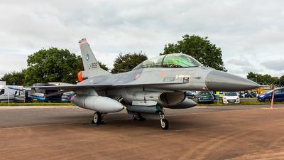 J-368 - General Dynamics F-16BM Fighting Falcon - Netherlands - Royal Air Force