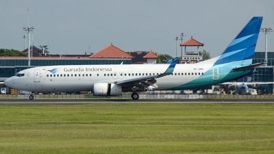 PK-GMS - Boeing 737-8U3 - Garuda Indonesia